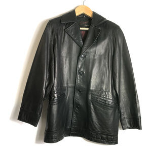 Rogue Leather by Reilly Olmes Black Leather Jacket